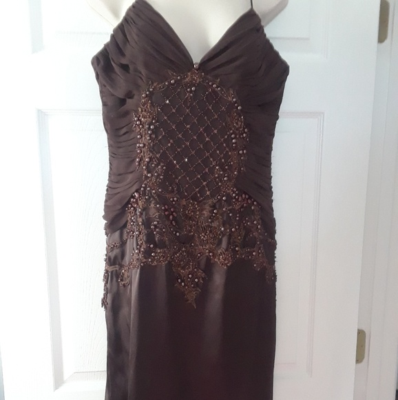 Cache Coeur Dresses & Skirts - BEADED DRESS BY CACHE LUXE size 8